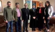 عزالدين استقبلت وفدا من الحملة الوطنية لإنقاذ جبل الريحان