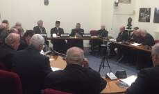 الراعي التقى أعضاء المجمع المقدس والابرشيات المارونية في روما