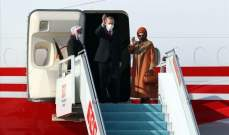 اردوغان وصل إلى أذربيجان في زيارة رسمية