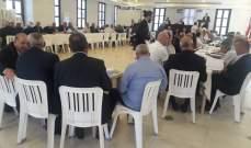 اللقيس رعى ورشة عمل حول الزراعة في لبنان