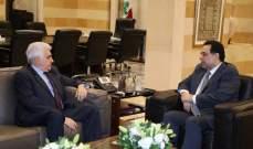 دياب عرض مع حتي شؤون وزارته واستقبل فريق اللجنة الثلاثية للجيش