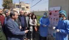 وزير الصحة السوري تفقد معبر جوسيه ضمن الإجراءات الإحترازية المتعلقة بكورونا