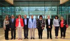 وزيرة الثقافة المصرية زارت جامعة بيروت العربية: مستعدون للتعاون بهدف ارساء ثقافة الاستثمار في الطلاب