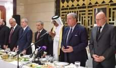 سفير قطر أقام حفل افطار في مبنى السفارة: لبنان رسالة ونموذج للتعايش قل نظيره