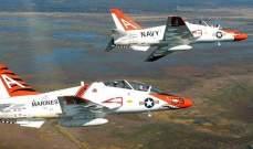 اصطدام طائرتين تابعتين للبحرية الأميركية فوق ولاية تكساس