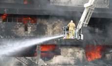 اصابة 13 شخصاً اثر اندلاع حريق بعقار سكني في باريس