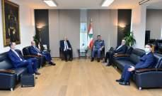 اللواء عثمان عرض مع السفير التركي سبل التعاون للخروج من المحنة