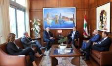 مدير عام الأمن العام استقبل رئيس مؤسسة Mérieux للاعمال الخيرية