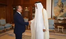 جاويش أوغلو شكر قطر على دعمها للعملية العسكرية التركية في شمال سوريا