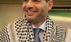 حسن مراد: تحية لأبطال فلسطين الذين يتصدون للإرهاب دفاعا عن حقوقهم