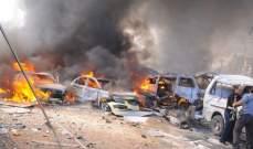 انفجار سيارة مفخخة استهدفت تجمعا لهيئة تحرير الشام بالقرب من دوار الزراعة