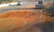 حالة الطرق في عدد من المناطق اللبنانية بعد ظهر اليوم