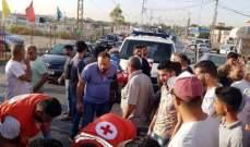 النشرة: اصابة شخصين بحادث صدم على طريق صور الناقورة