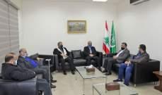 النشرة: مدير مستشفى حمود الجديد التقى الحريري وسعد والسعودي وفعاليات بصيدا