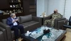 رحمة  زار قائد الجيش مقدما واجب العزاء باستشهاد العريف المجند عبد الرحمن وردة