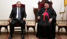 فرعون زار مطر: الإنتخابات النيابية محطة للحوار وفق الخيارات السيادية
