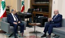 الرئيس عون عرض مع قرطباوي الاوضاع العامة