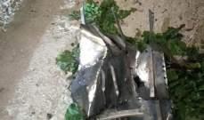 النشرة: سقوط صاروخ للدفاع الجوي السوري في بلدة حولا