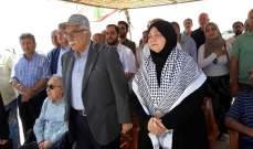 بلدية ارنون تنظم اعتصام خميس الاسرى في السجون الاسرائيلية