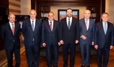 الصقر بعد لقائه الحريري: نتمنى أن ينجح بتشكيل الحكومة سريعاً