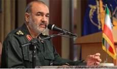 سلامي: سليماني كان العمود الفقري للحرس الثوري والآن أصبح أكثر خطورة