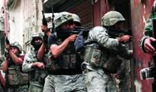 النشرة: إشكال بمنطقة الفيلات بصيدا أدى لتدخل الجيش وإيقاف احد الاشخاص
