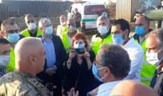 راوول نعمة: هناك 12 رافعة تعمل من اصل 16 في مرفأ بيروت