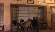 العسكريون المتقاعدون نصبوا خيما أمام مصرف لبنان