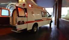 إصابة امرأة وابنتها بحادث سير على مستديرة زحلة