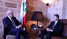 ميقاتي التقى السفير الصيني ورئيس بلدية طرابلس