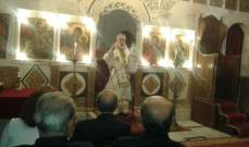 كفوري ترأس قداس عيد مار الياس في كفرمشكي: للمساواة بين الناس في هذا البلد