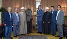 اللواء عثمان التقى رئيس اتحاد بلديات السهل  بالبقاع الغربي