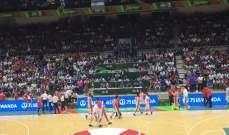 خسارة منتخب لبنان أمام منتخب نيوزلندا بنتيجة 69-67