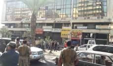 النشرة: مجموعات من المحتجين يجولون في صيدا دون اقفال الطرقات