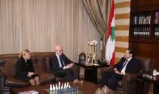 وزير خارجية النروج بعد لقائه الحريري: ندعم الاستقرار في لبنان وإعلان باريس