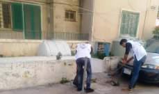 النشرة: الكشاف العربي نظم حملة نظافة وتعقيم بصيدا وشارك بتوزيع القسائم الغذائية