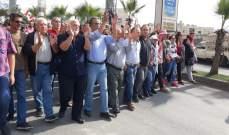 النشرة: مسيرة للمعتصمين من دوار كفررمان باتجاه مدينة النبطية