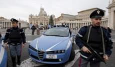 وسائل إعلام إيطالية: مقتل شرطيين اثنين وإصابة 3 آخرين بإطلاق نار شرق ايطاليا
