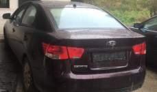 قوى الامن: فصيلة الهرمل اوقفت شخصاً على متن سيارة مسروقة