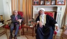 السعدي التقى الخليل: متضامنون مع الجيش والقوى الأمنية في مواجهة إسرائيل والإرهاب