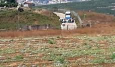 النشرة: وفد إسرائيلي بثياب مدنية يجول قرب الخط التقني بمحاذاة مستعمرة المطلة