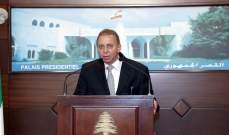 وزير المهجرين: طلبت تأييد عون للحصول على بعض المخصصات المتأتية من صندوق النقد لإنجاز الملفات