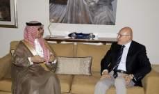 سلام التقى البخاري وعرضا للأوضاع والزيارة المرتقبة لوفد سعودي إلى بيروت