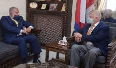 عميد الخارجية بالقومي التقى زاسبيكين:إجراءات أميركا انتهاك للقانون الدولي