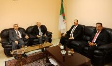 وفد من المرابطون زار  سفارة الجزائر للتهنئة بمناسبة الذكرى الـ65 لثورتها