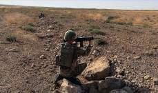 """الدفاع التركية: القضاء على 12 """"إرهابيا"""" من """"بي كا كا/ ي ب ك"""" شمالي سوريا"""