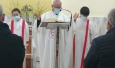 احتفالات قداس القيامة بالمعهد الحبري الماروني وكنيسة مار شعيا في روما