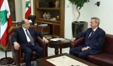 الرئيس عون عرض مع حاكم مصرف لبنان الواقع النقدي في البلاد