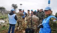 وصول فريق الشؤون الجغرافية في الجيش إلى ميس الجبل لمتابعة الإجراءات الإسرائيلية