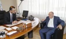 وزير الثقافة التقى نقيب المهندسين ورئيس اتحاد بلديات جبل عامل